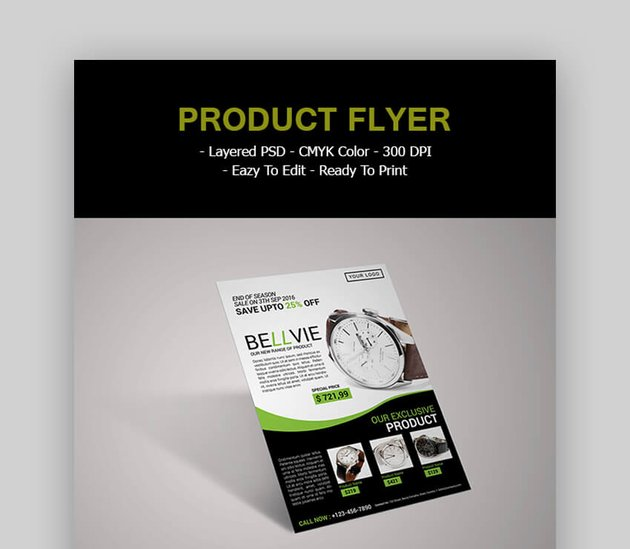 Product Flyer Classic Template
