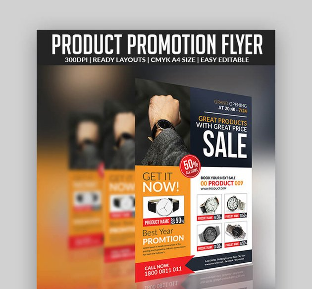 Product Flyer Modern Template