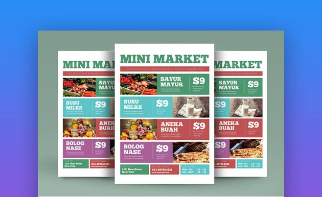 Product Promotion Flyer Modern Example