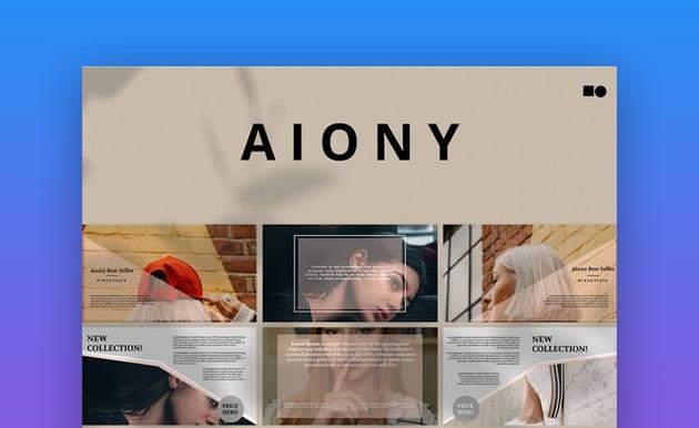 Aiony Creative PowerPoint Template