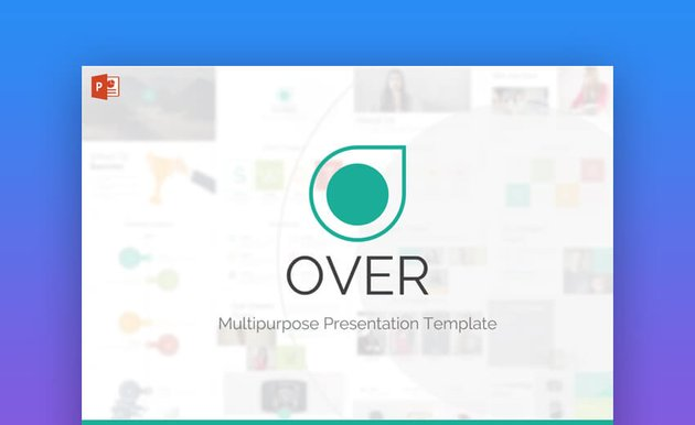 Over PowerPoint Presentation Template