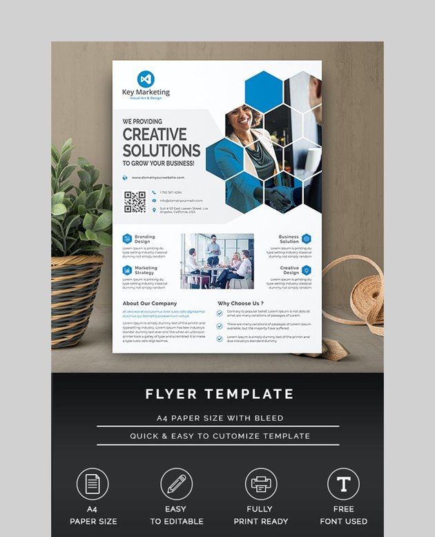 Simple Flyer Inspiration
