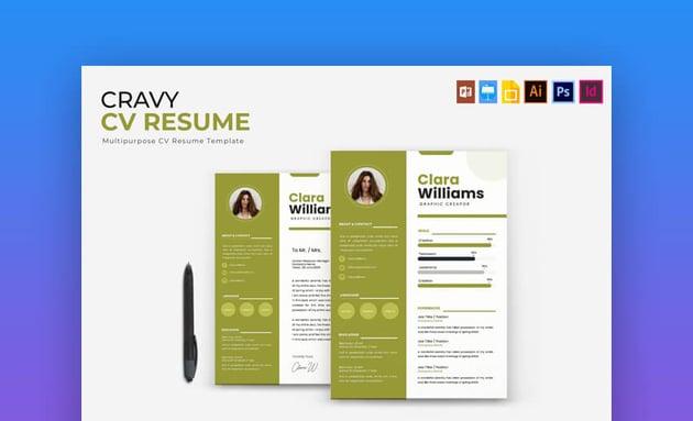 Cravy CV Resume