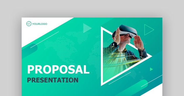 Proposal - Animated PowerPoint Pitch Deck Template