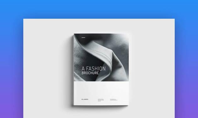 Simple InDesign Brochure Template