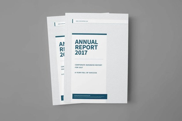 Corporate InDesign Brochure Template