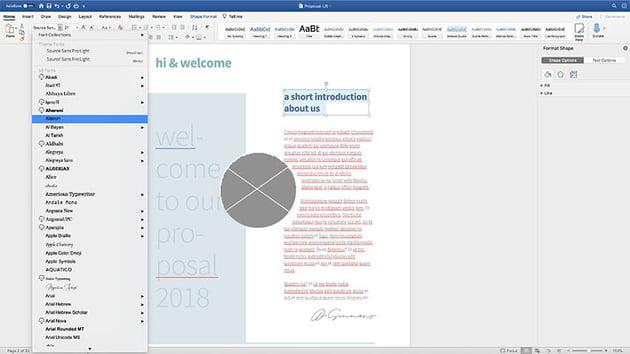 customizing fonts