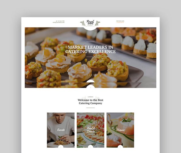 Royal Event  A Wedding Planner  Catering Company WordPress Theme