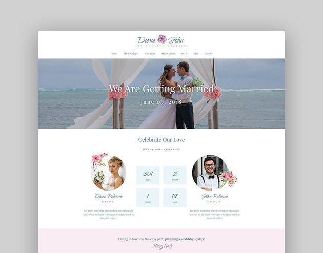 Special Day - Wedding Day Planner Event Theme