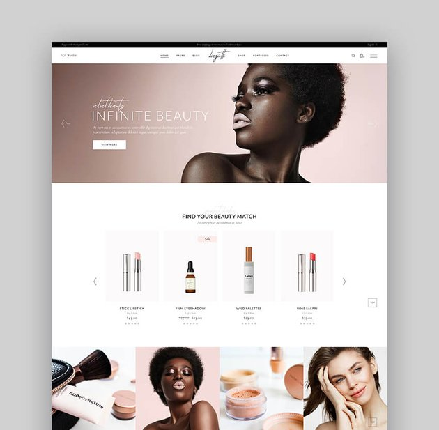 Biagiotti - Best Beauty and Cosmetics WooCommerce Theme
