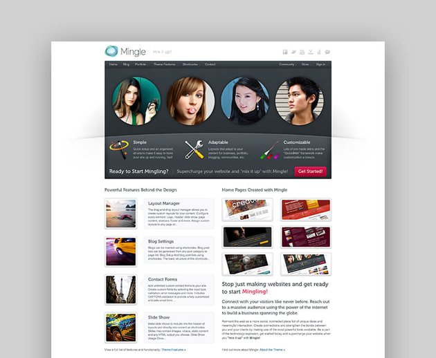 Mingle - Multi-purpose WordPress Forum Theme