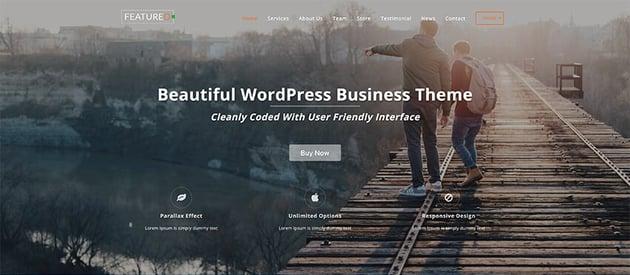 Single Page Maker - Free WordPress Forum Theme