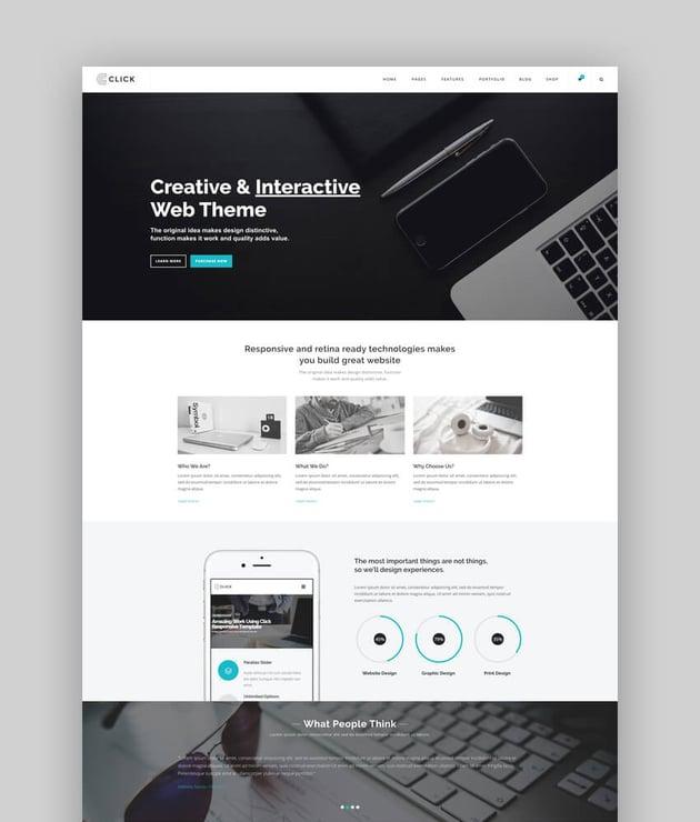 Click - Multi-Purpose WordPress Theme