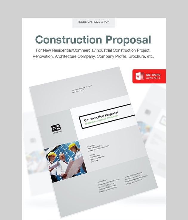 Clean Construction Proposal