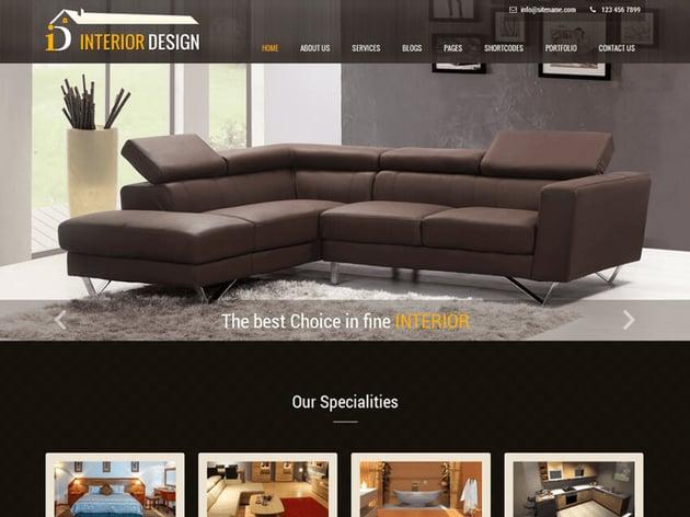 Interior Lite - Free WordPress Theme