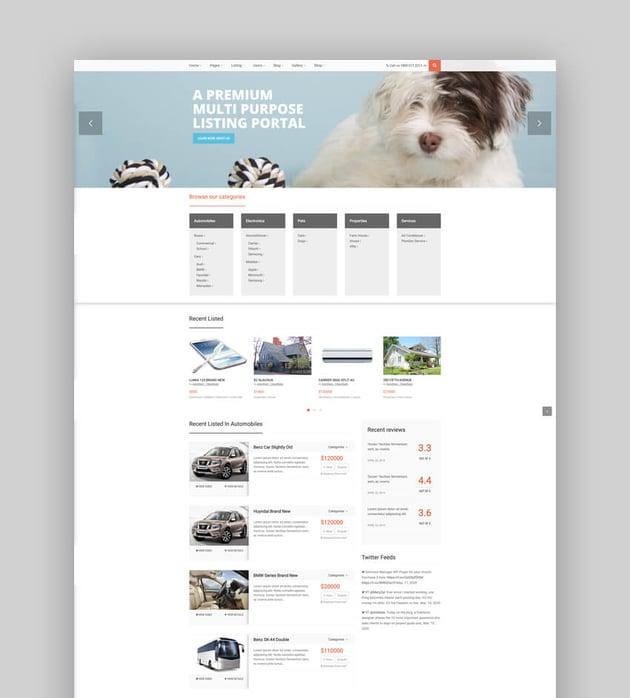 Auto Stars - Car Dealership and Classifieds WordPress Theme