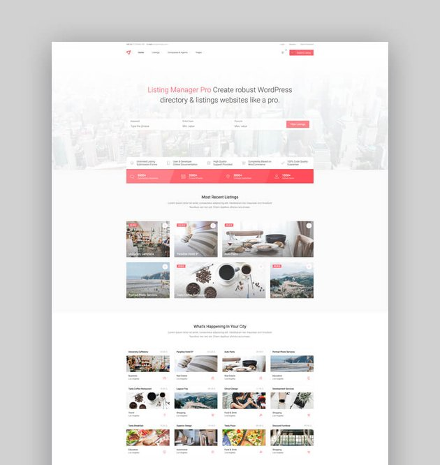 Listing Manager Pro - Directory Theme for WooCommerce