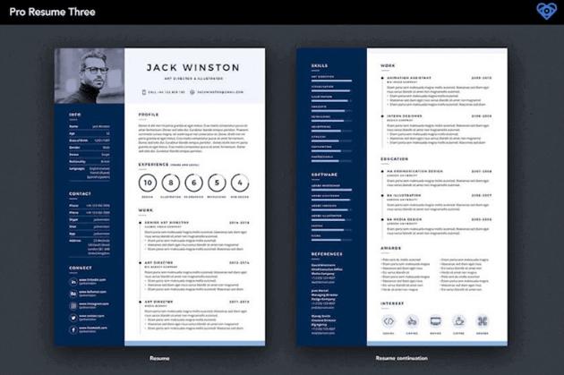 Premium creative resume