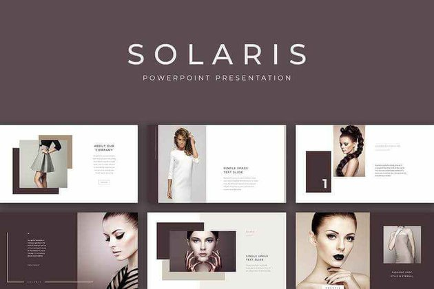 Solaris PPT template