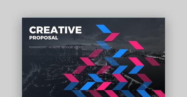 Creative Proposal Google Slides Template