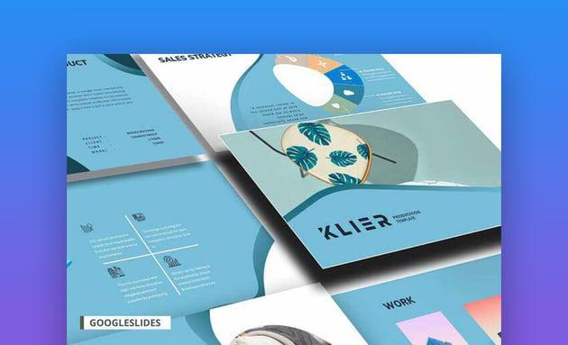 Klier Creative Product Google Slides