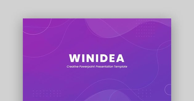 Winidea - Creative Google Slides Template