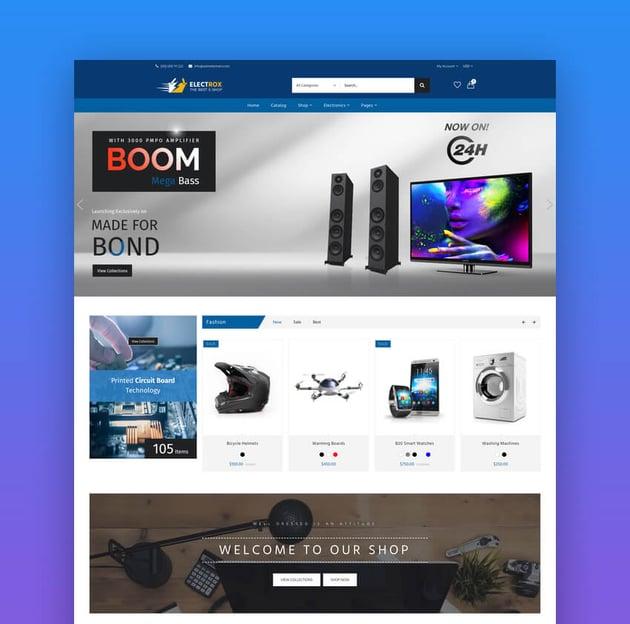 Electrox - Electronics Shopify Theme