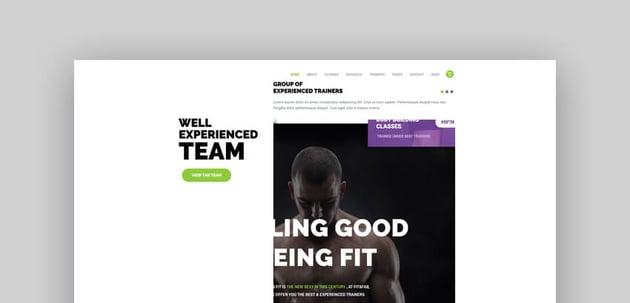 Fit  Fab - Aerobic Gym and Fitness WordPress Theme