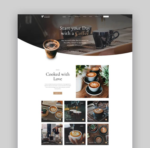 Cake Bakery - Pastry and Coffee Shop Theme For WordPress
