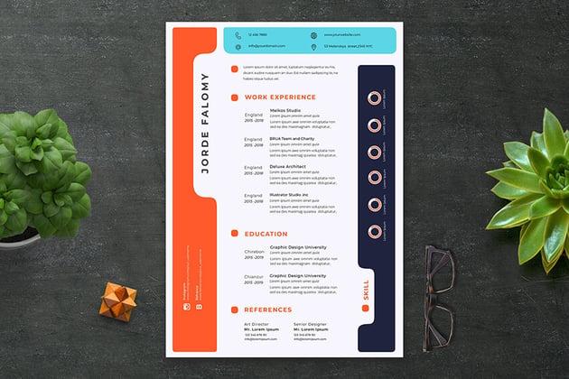 Creative Resume on Envato Elements