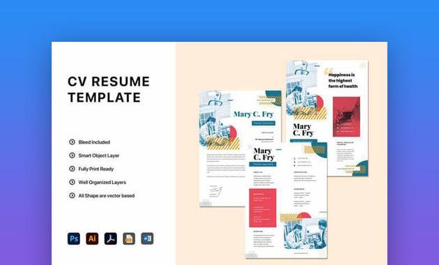 Creative Resume Word