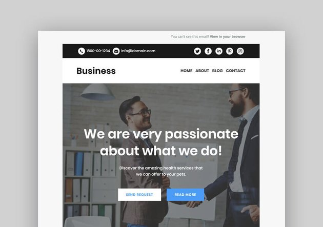 Business - Responsive Mailchimp Template