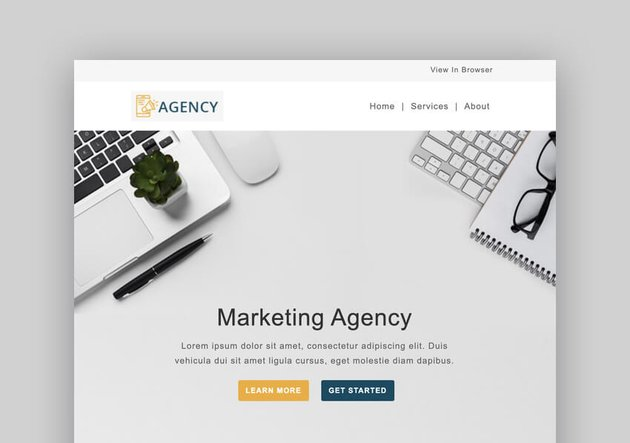Marketing Agency - Responsive Mailchimp Template