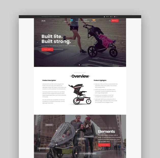 Ap Strollik - Flexible Single Product E-commerce Shopify Theme