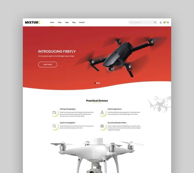 Mixture  Single Product Shopify Theme