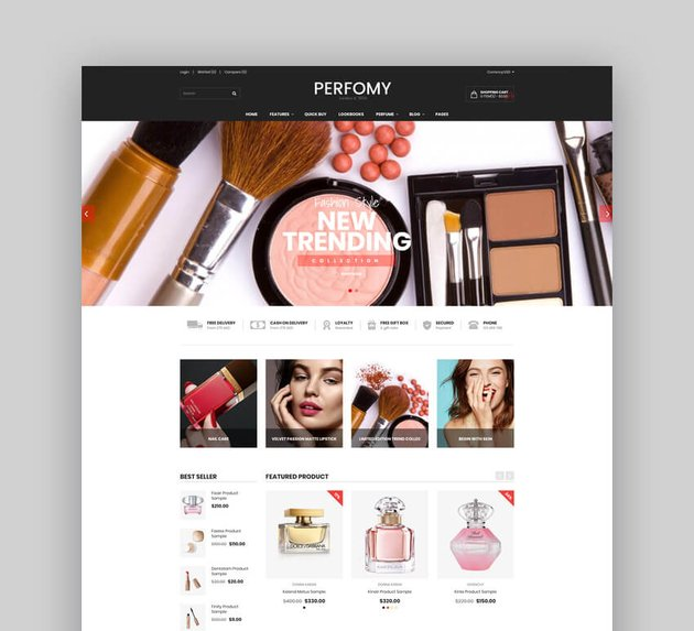 Fashion Shopify AR Theme - Performy
