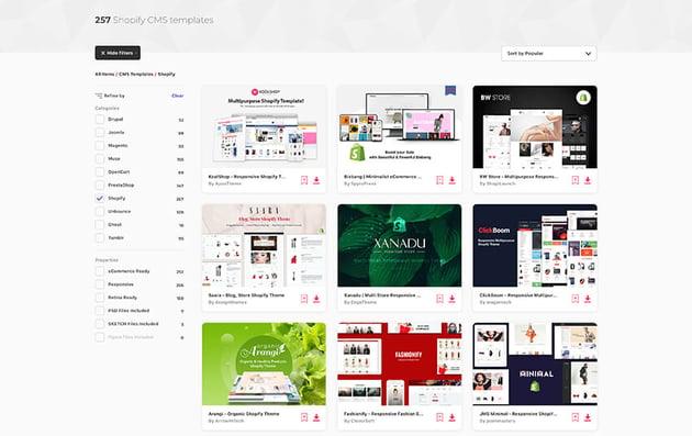 Envato Elements Shopify AR Themes