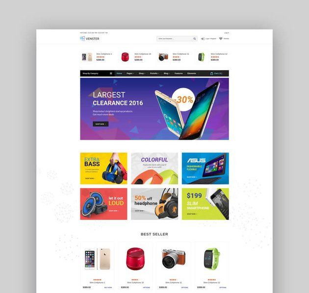 Venster - Computer Store Sectioned Responsive Shopify Theme