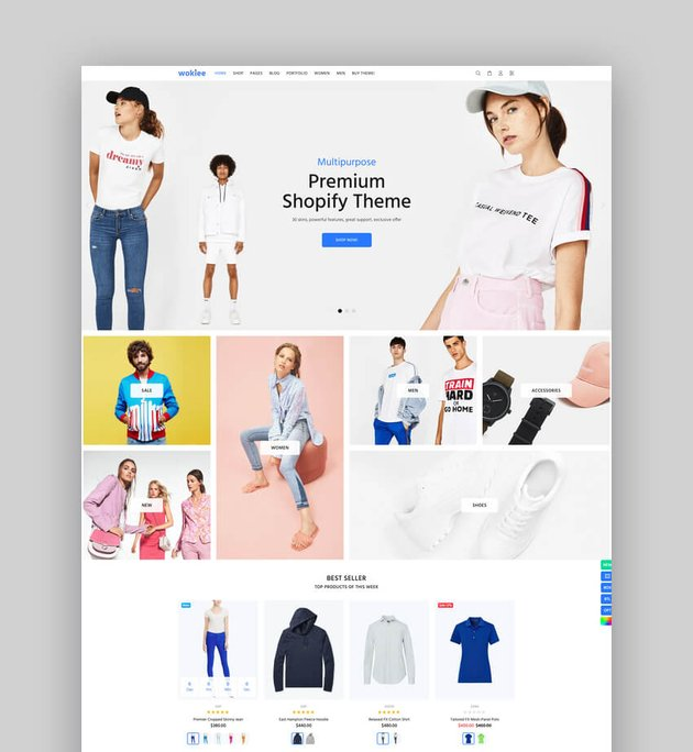 Wookie - Multipurpose Shopify AR Theme
