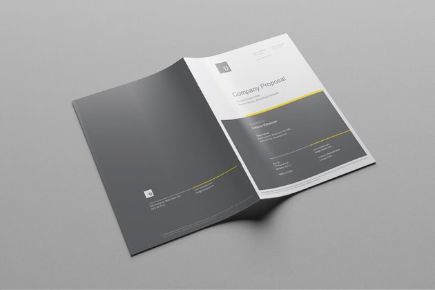 Free Company Business Proposal Template