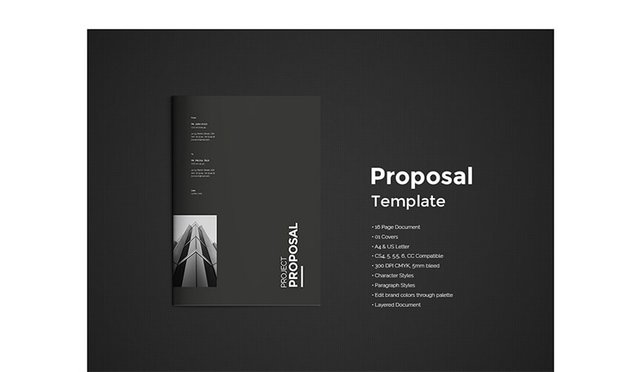 Free Clean Sales Proposal Template