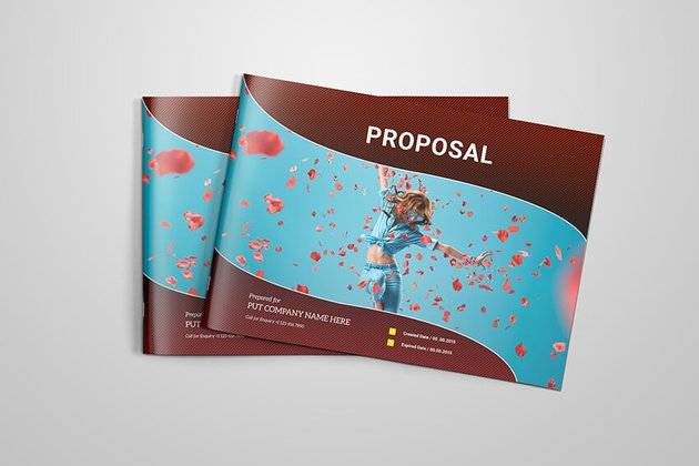 Proposal Template with Cover Example