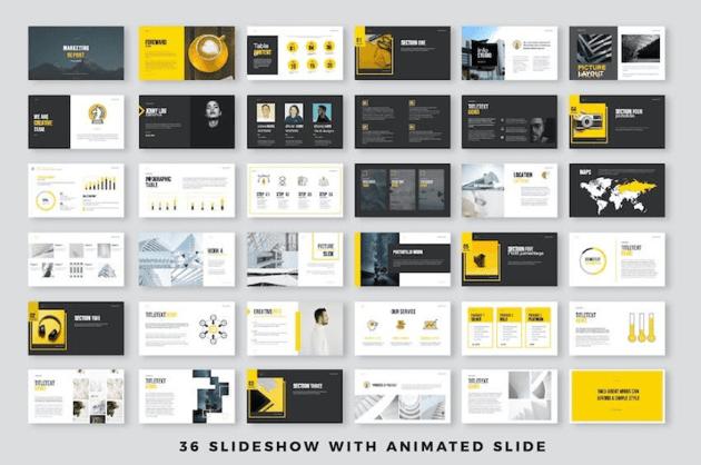 Simple Presentation Template