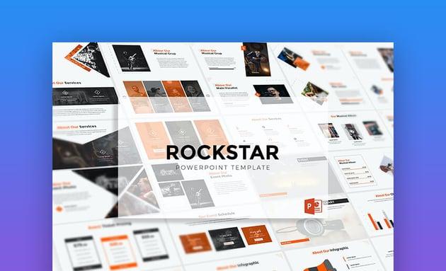 Rockstar Bold PowerPoint Template