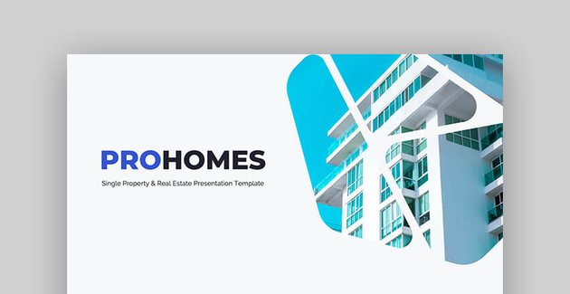 Prohomes Single Property  Real Estate Presentation PowerPoint