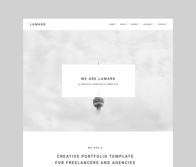 Lamark - Freelancer and Agency Theme for Elementor