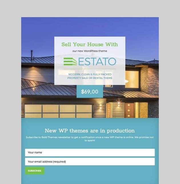 Estato - Single Property Real Estate Theme