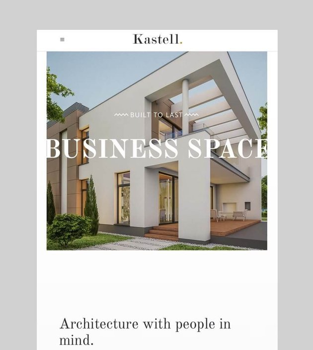 Kastell - WordPress Apartment Rental Theme
