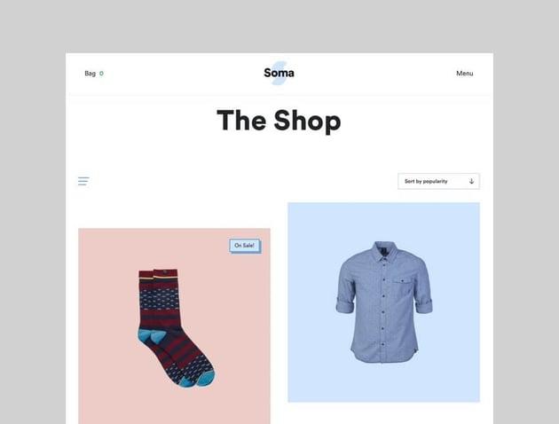 Soma WooCommerce drop shipping theme