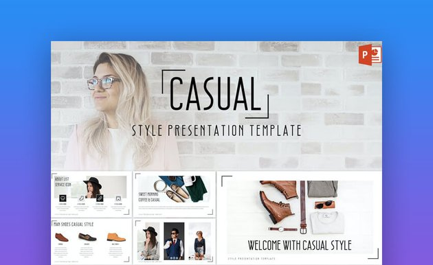 Casual PowerPoint Template